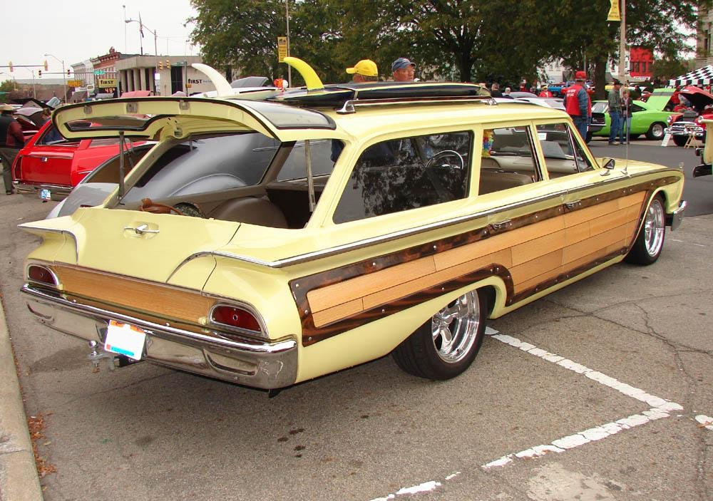 Rochester 07 Ford surf woodie wagon Jims59-com