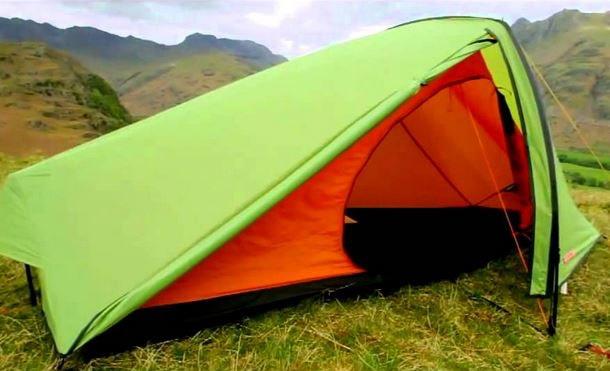 远足帐篷强迫十