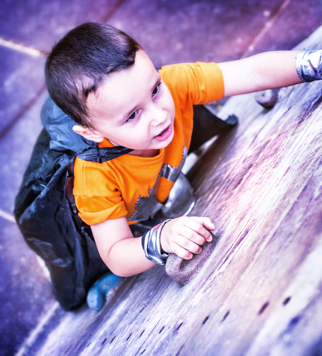 Rock Climbing Baby And 6 Other Kids Who Could Out Cl...