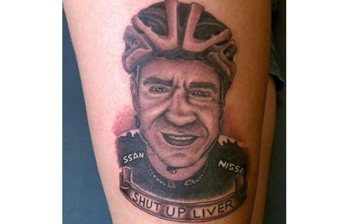 Jens Voight Road Cycling Tattoo Photo mollyraimonte