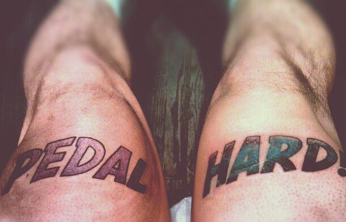 Pedal Hard @Johan_Wilkes_Booth via Voodoo Monkey Tattoo, Instagram