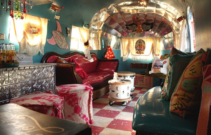 Camper Van Interior Airstream Junk Gypsy Company