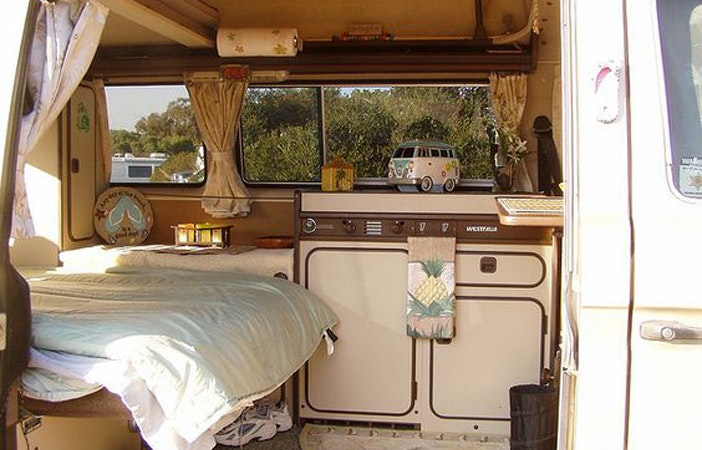 Camper Van Interior Westfalia Official GoWesty