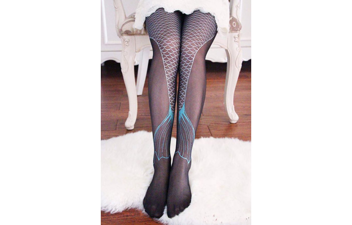 Mermaid Tights Pantyhose
