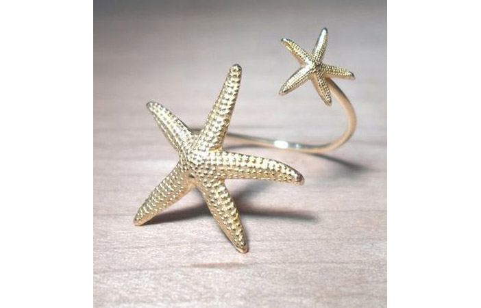 Starfish Mermaid Ring 11 Main