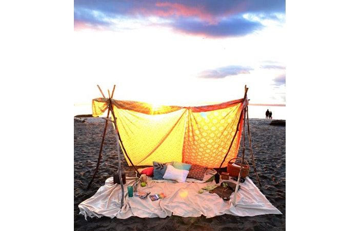 Surfing Camping Beach Tent Pinterest
