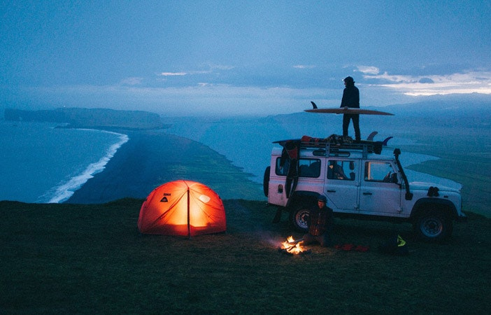 Surfing Camping Chris Burkard Poler Stuff