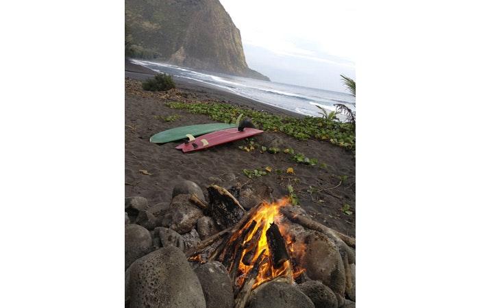 冲浪露营夏威夷waipio海滩Somethingaboutgettinglost.tumblr.com