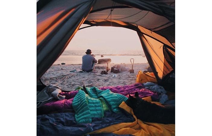 冲浪露营帐篷Tumblr 2