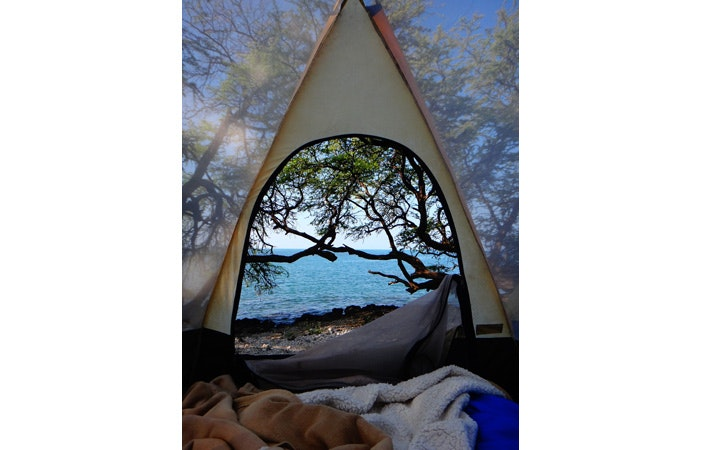 Surfing Camping Tent Tumblr