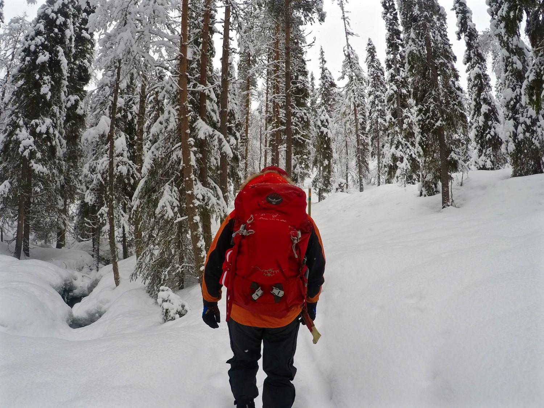 lapland adventure finnish finland santa hiking skiing explore