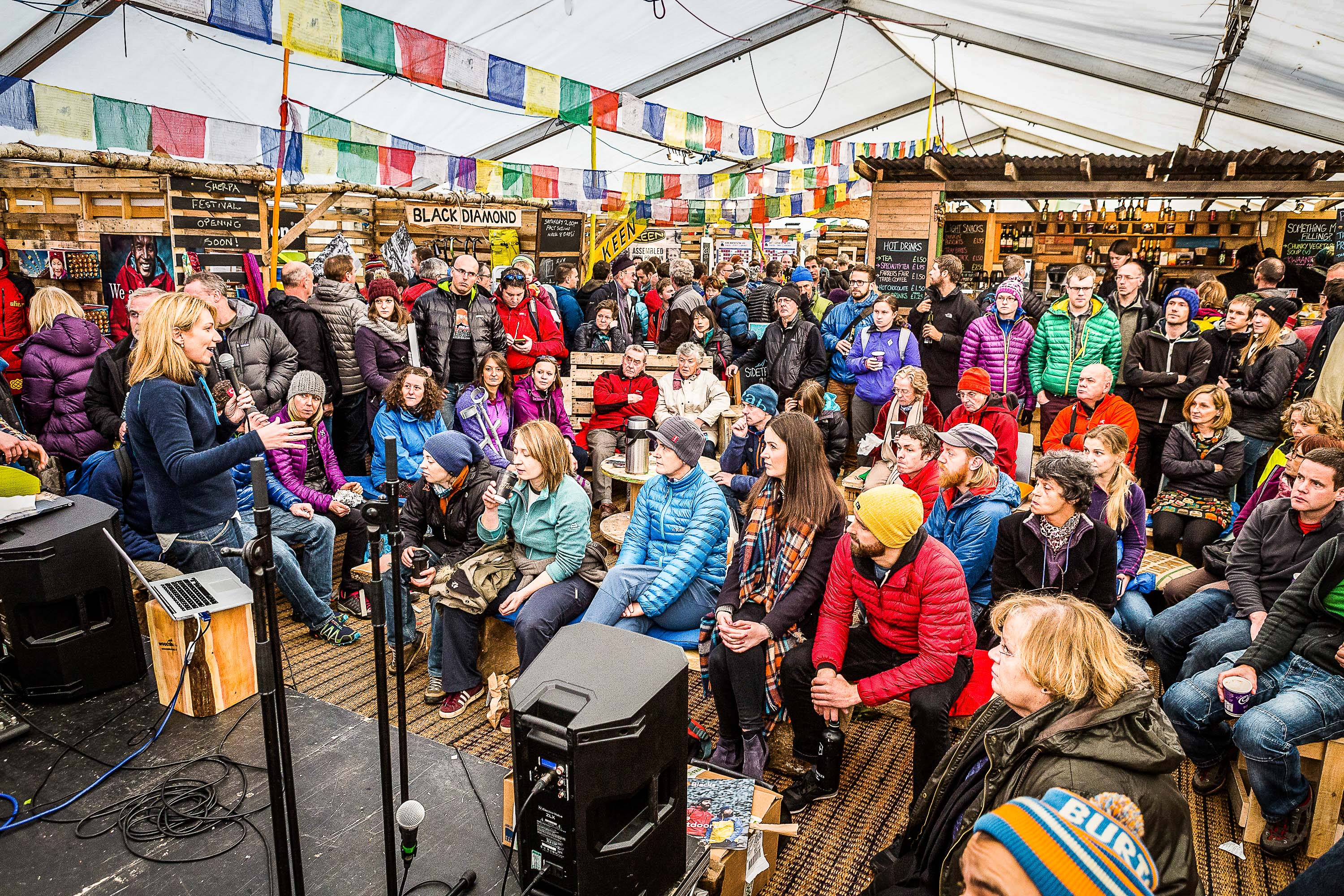 Kendal Mountain Festival 2016 the audience