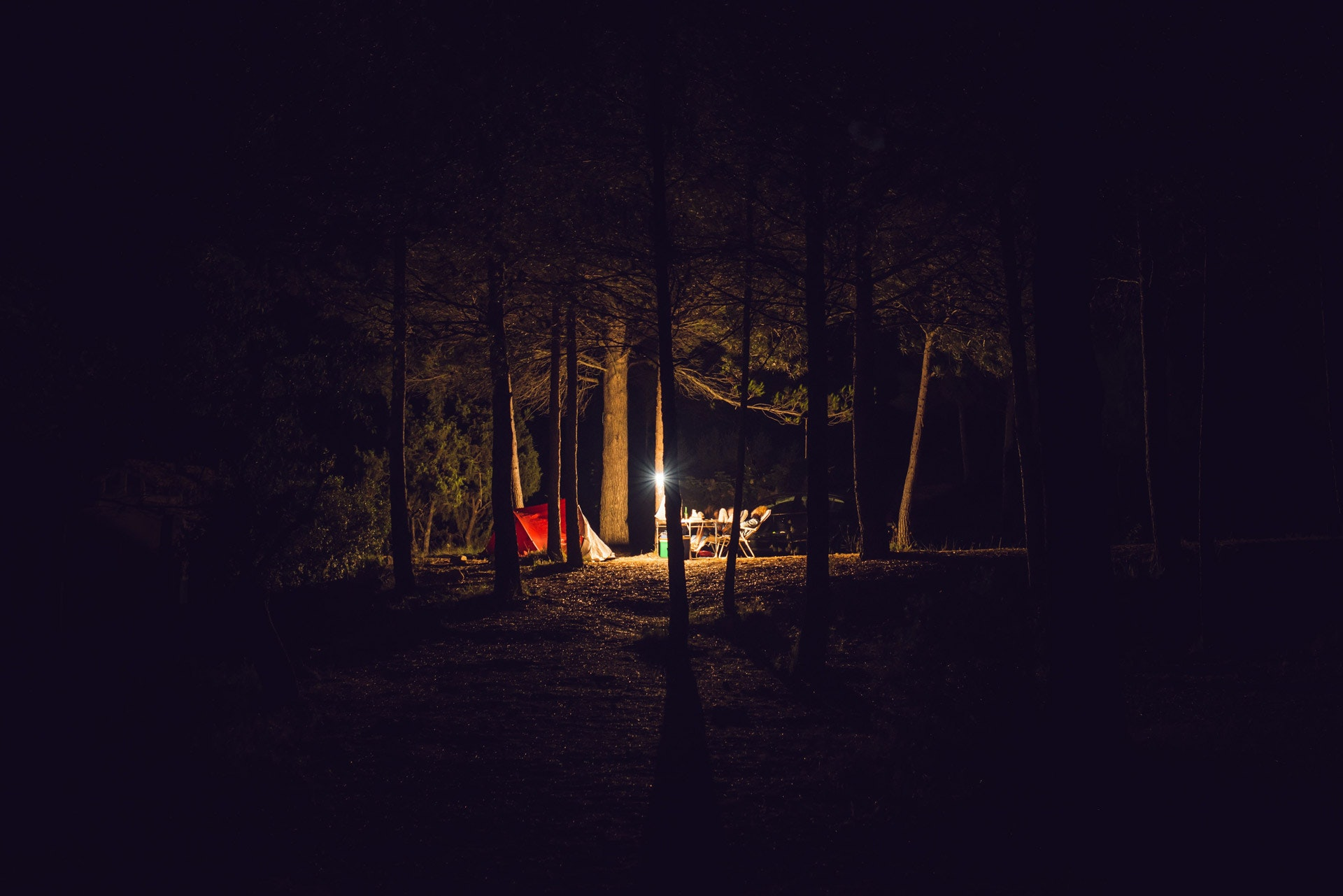 Camping-Out-For-One-Month
