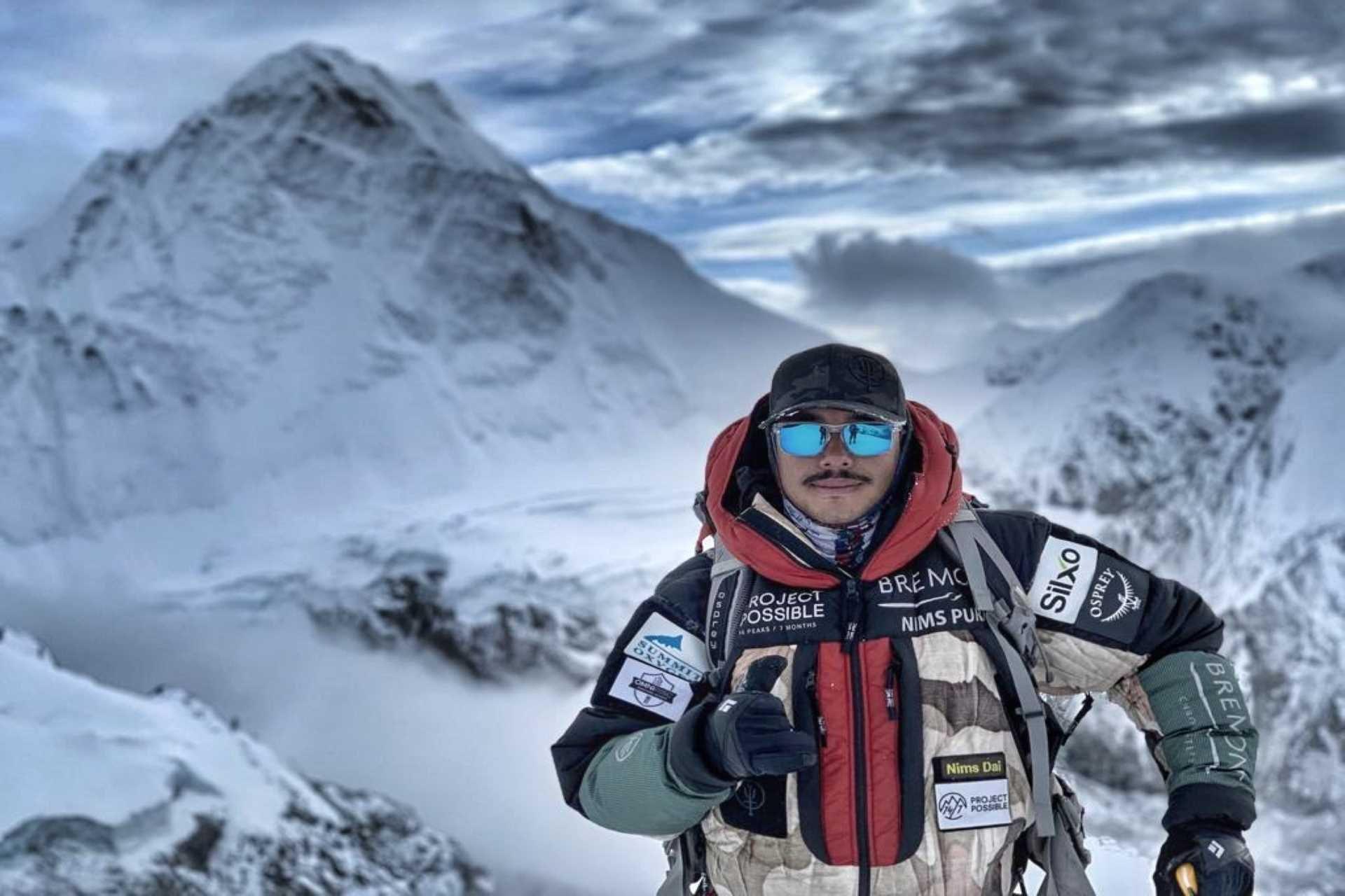 Nirmal Purja Climbing K2 In Winter