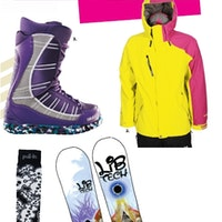 lib-tech-k2-snowboard-volcom-jacket-thirtytwo-boots-pull-in-socks