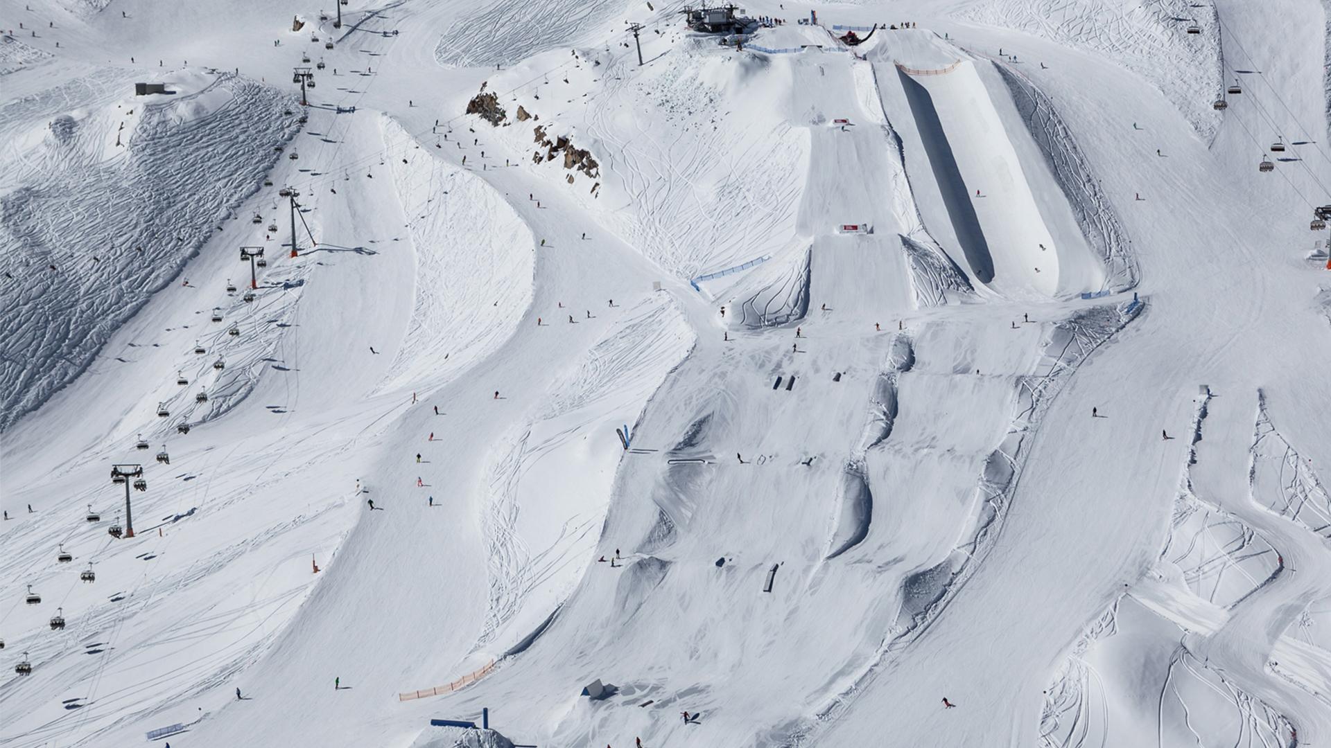 Snowpark Kitzsteinhorn, Austria