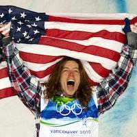 Shaun White Olympics Flag