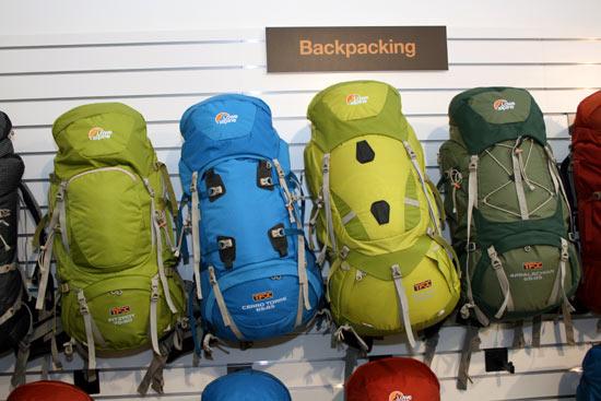 Lowe Alpine 2010 TFX packs