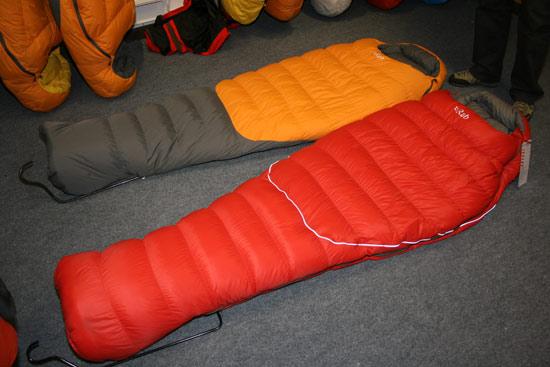 Rab Alpine and Neutrino Bags
