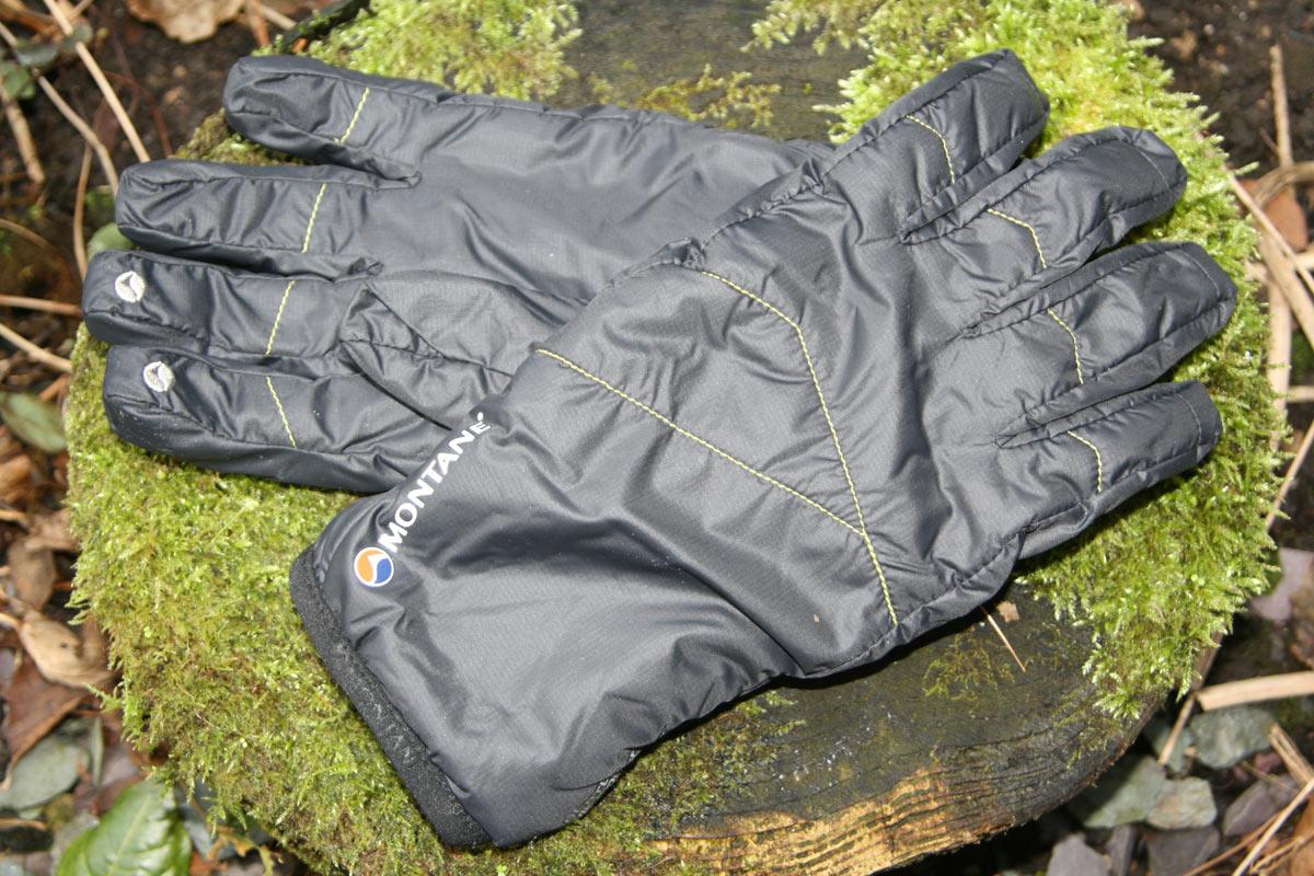 Black All Sizes Montane Super Prism Mens Gloves