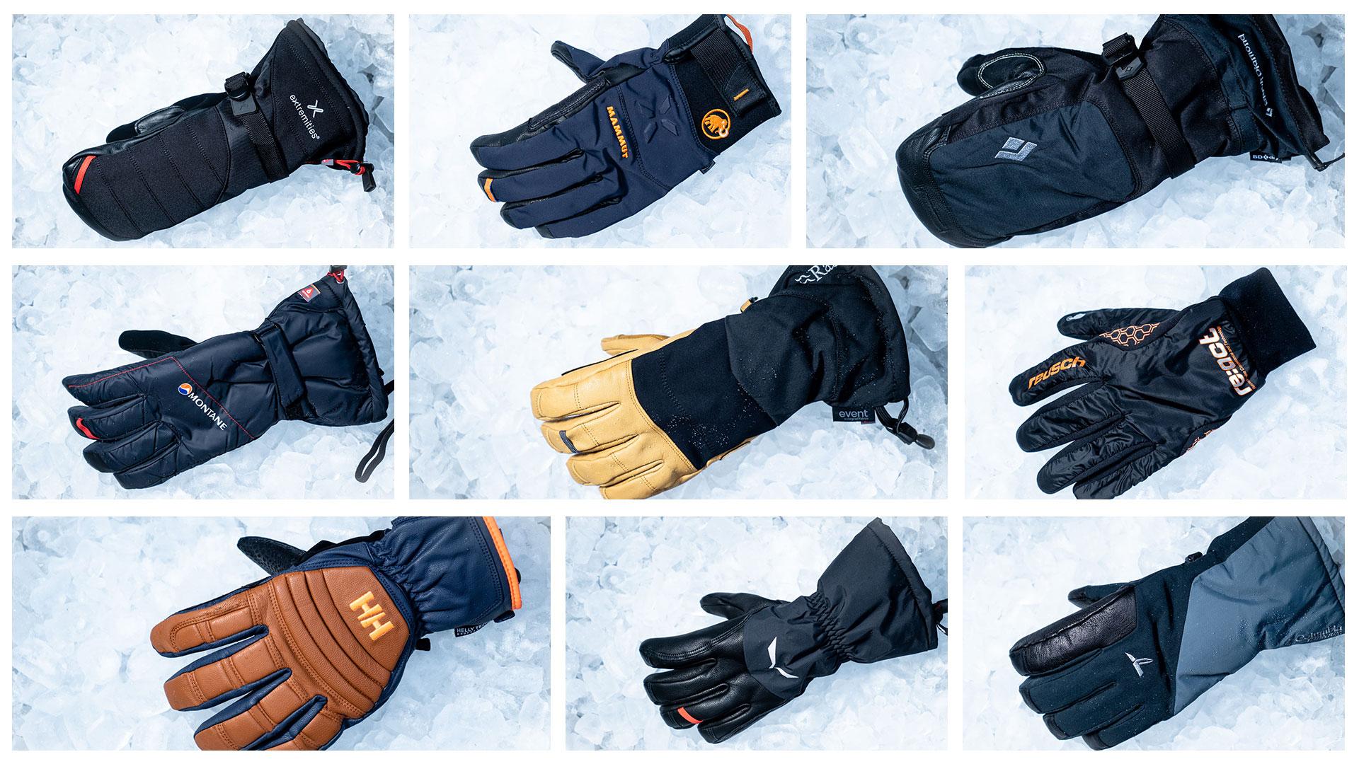 BLACK LARGE Extremities warm winter glove waterproof xdry windproof breathable