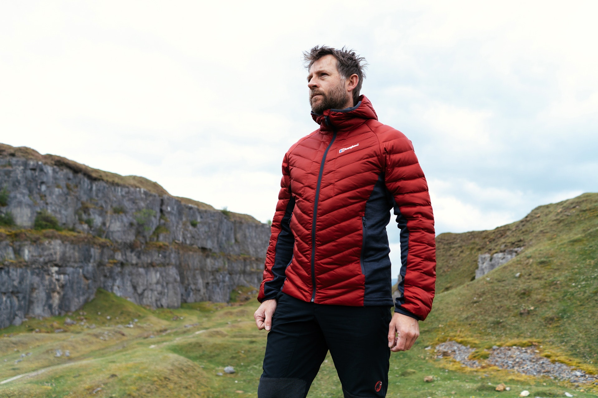 Berghaus Mens Tephra Stretch Reflect Down Jacket