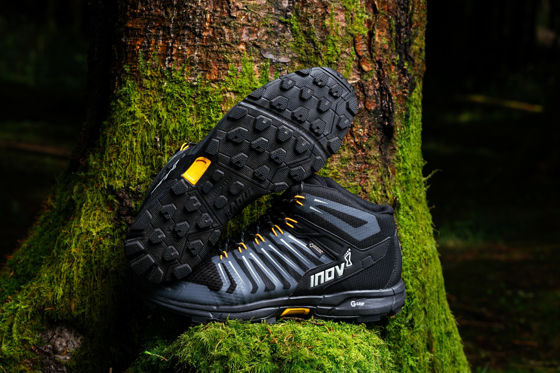 Inov-8 Mens Roclite G 345 GTX Mid Waterproof Lightweight Hiking Running Boots