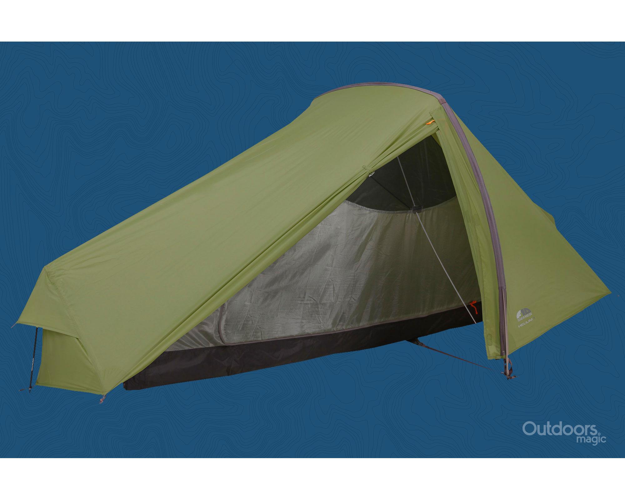 Lightweight one man summer tent