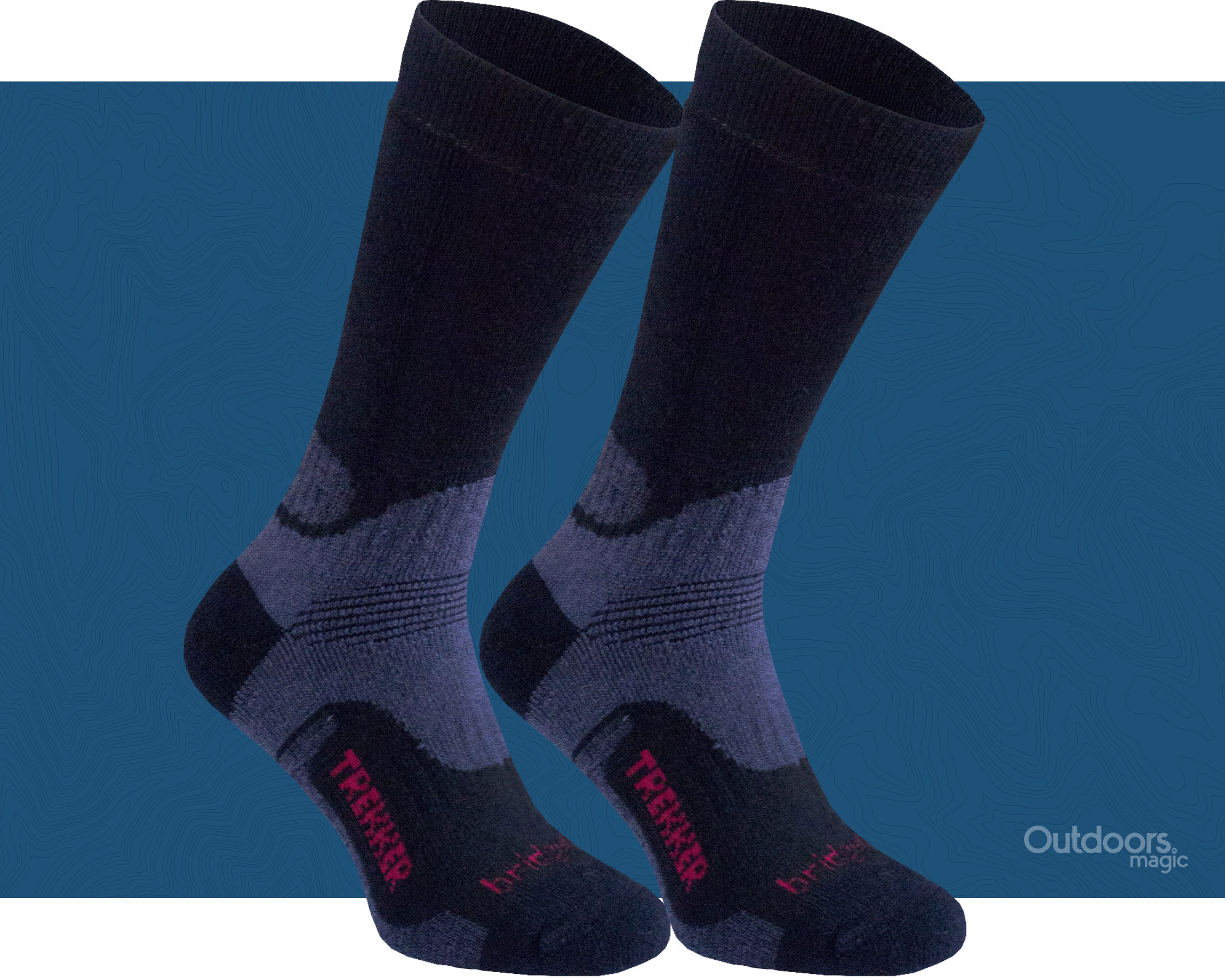 Bridgedale Womens Hike Midweight Merino Walking Socks