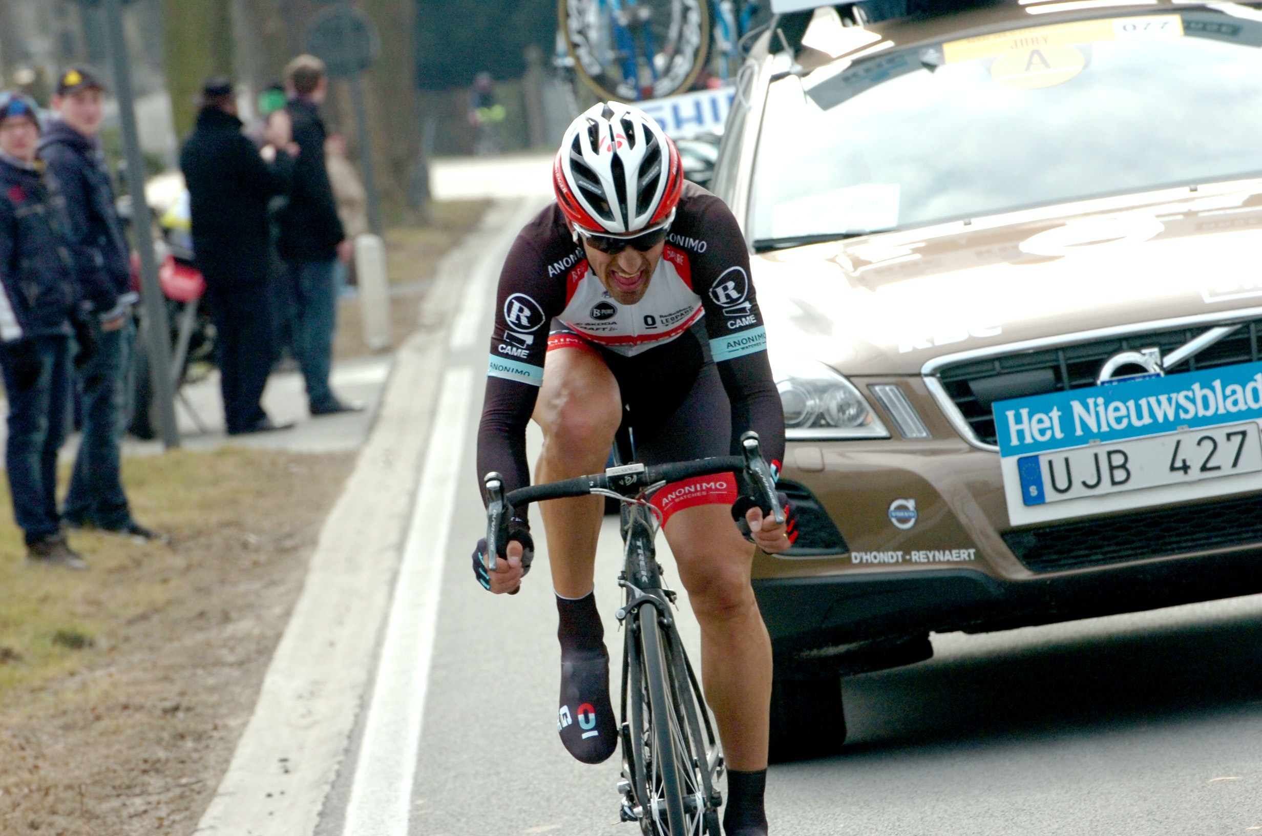 Fabian Cancellara, Tour of Flanders, attack, drop, Radioshack-Leopard, Trek