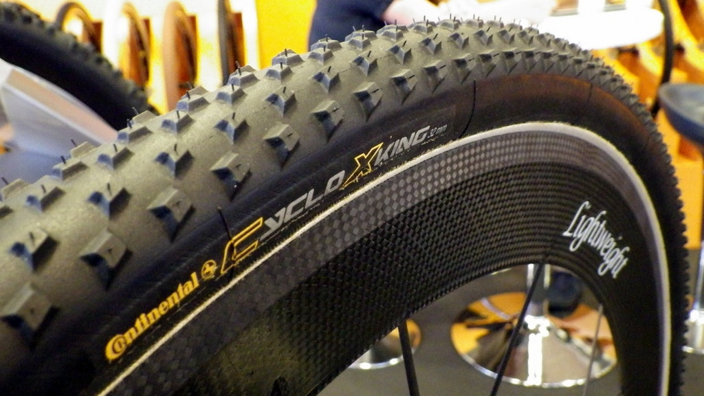 Continental CycloXKing tubular tyre