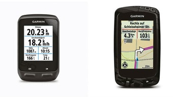 Garmin Edge 510 and Edge 810