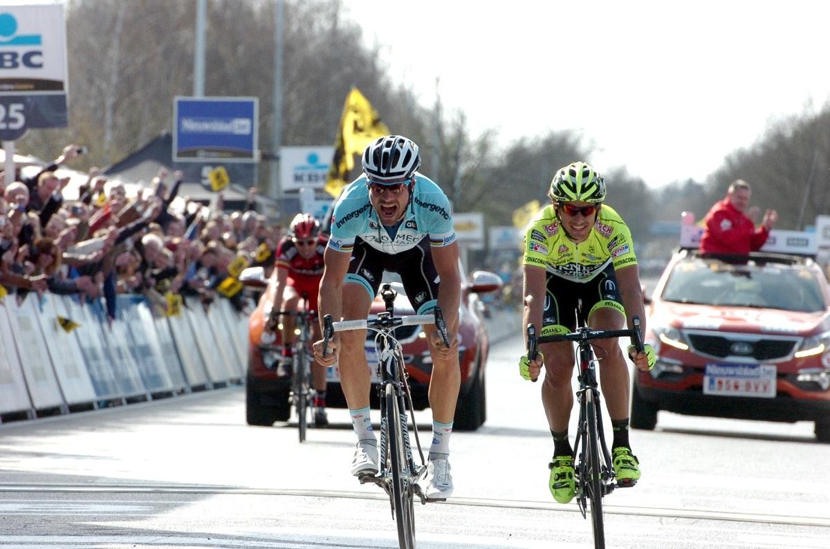 Tom Boonen, Ronde Van Vlaanderen 2012, sprint, Pic: Stefano Sirotti