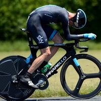 Criterium du Dauphine 2013, Chris Froome time trial, Pinarello Bolide