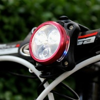 Lezyne Zecto Pro LED light, front, London 2013, Pic: Timothy John, ©Factory Media