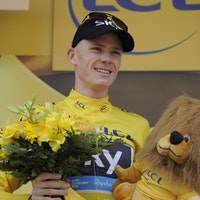 Chris Froome, Team Sky, yellow jersey, time trial, stage 17, tour de france, 2013