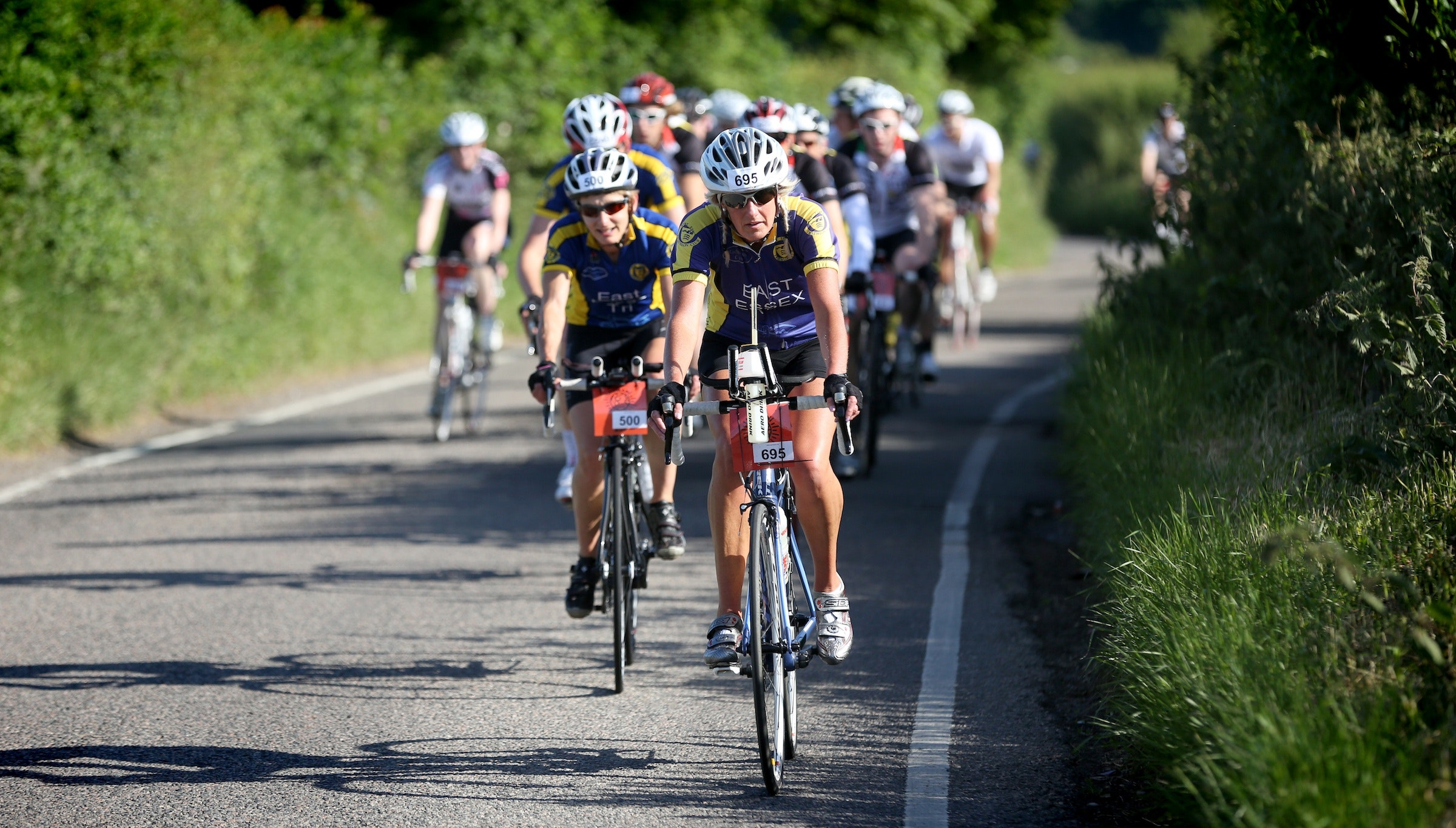 Riders, London Cycle Sportive 2013, Pic submitted by Gill McVeigh, Human Race
