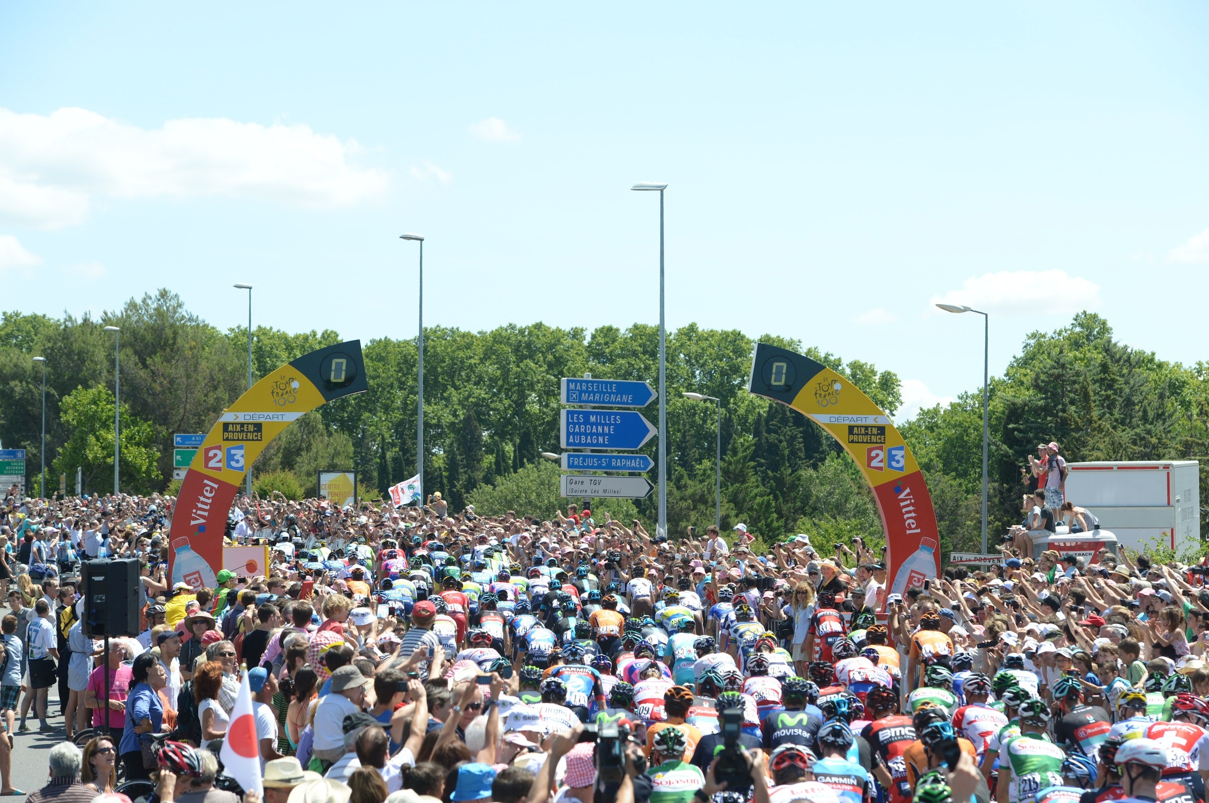 Peloton, Tour de France 2013, stage six, pic: ©Stefano Sirotti