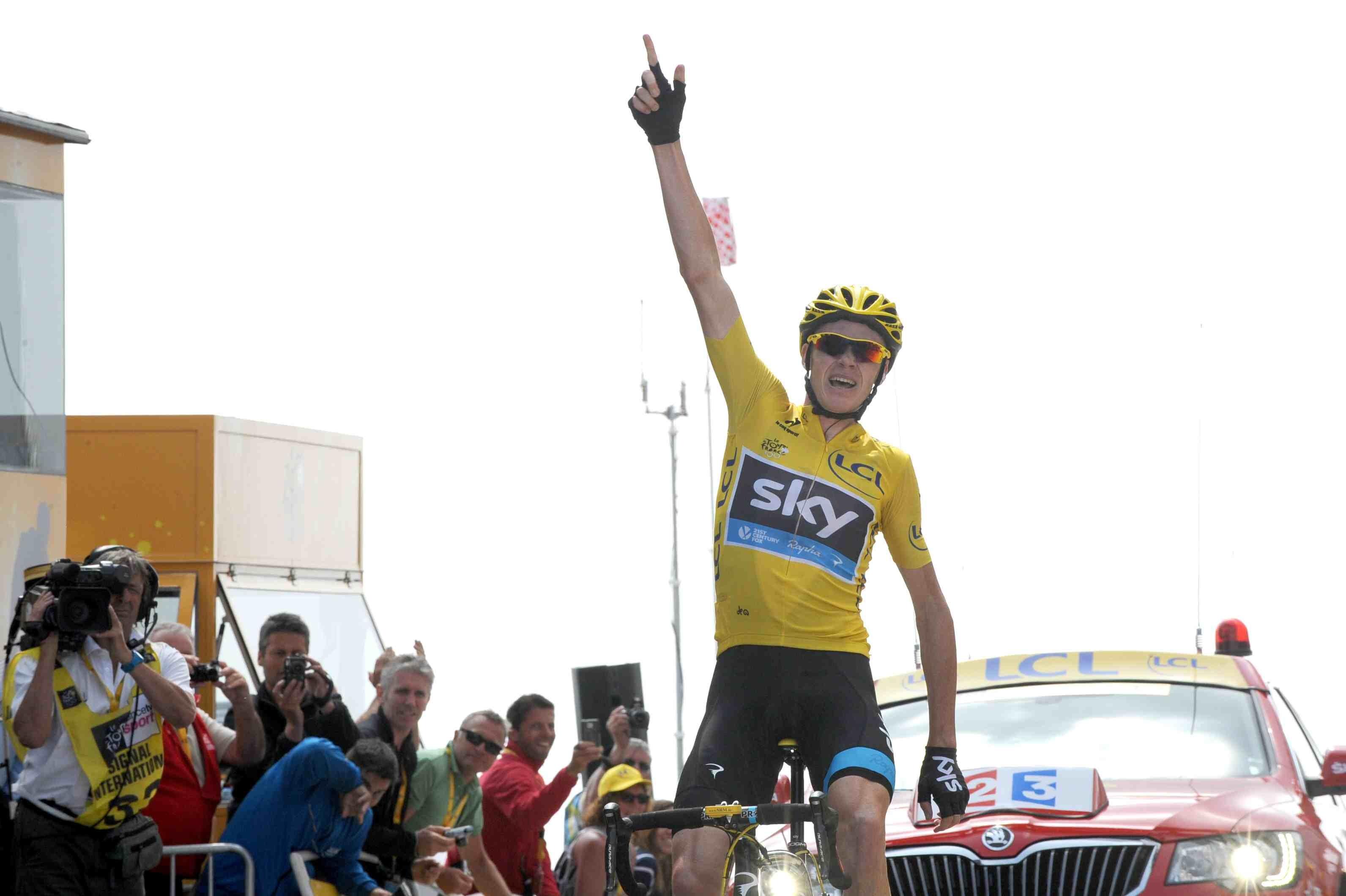 Tour de France 2013, stage 15, Chris Froome, Mont Ventoux