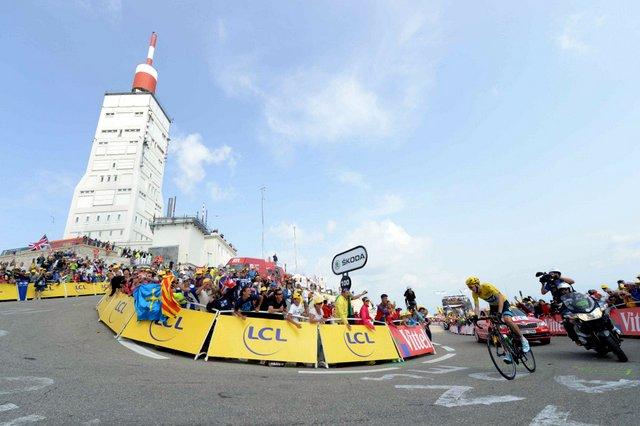 Tour de France 2013, stage 15, Mont Ventoux, Chris Froome