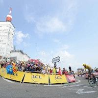 Chris Froome, yellow jersey, Mont Ventoux, Team Sky, Tour de France, 2013, stage 15