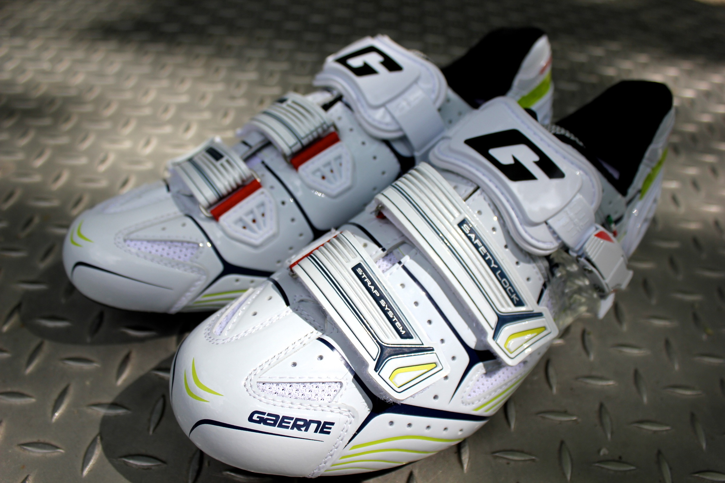 Platinum Shoes Road Cycling White Gaerne Carbon Composite G