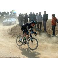Luke Rowe, Paris-Roubaix 2013, Troisvilles a Inchy, pic: ©Stefano Sirotti