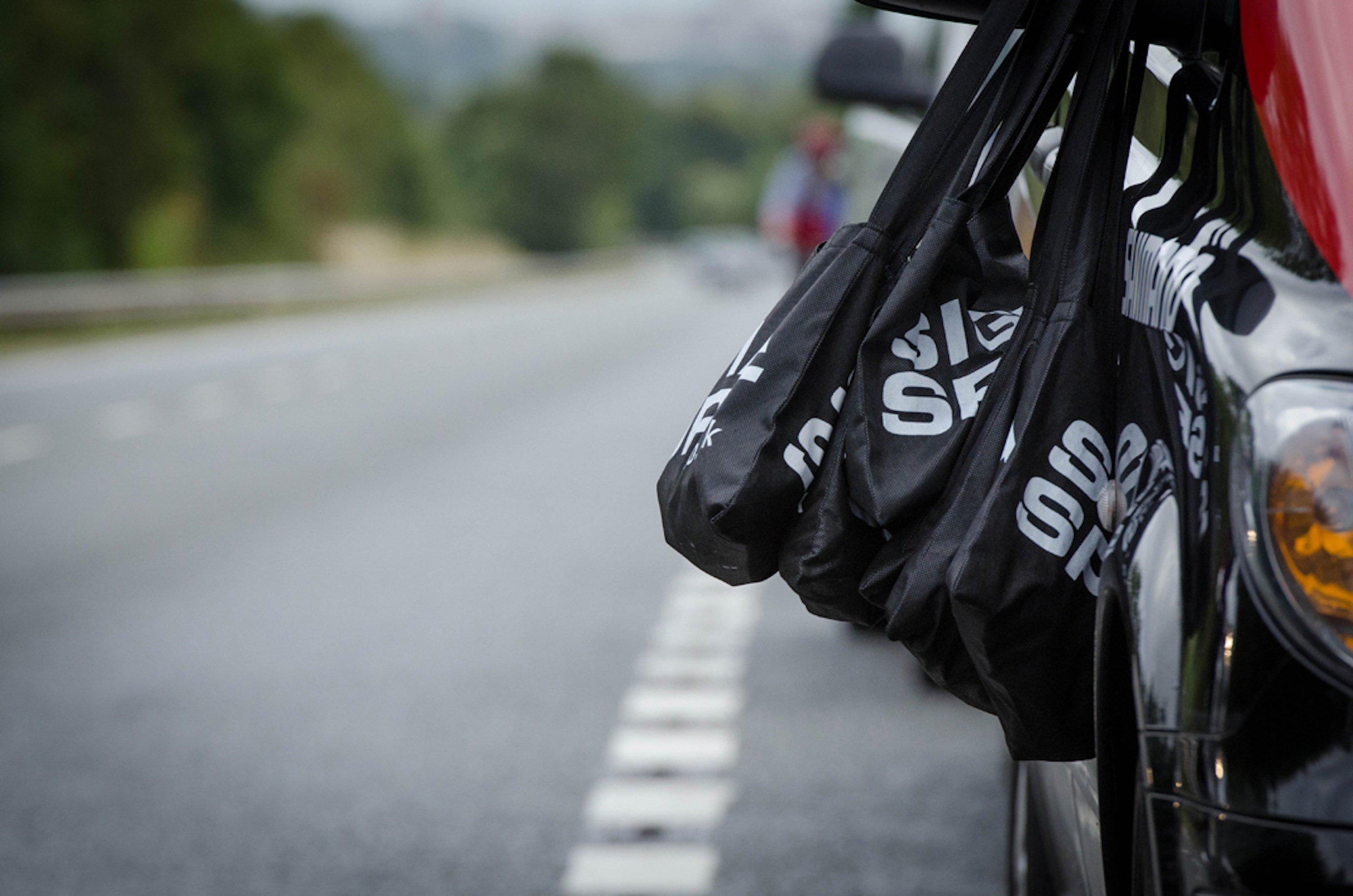 Sigma Sport musettes, Tour of Britain 2013, stage four, pic: ©Paul Hayes-Watkins, used with permission