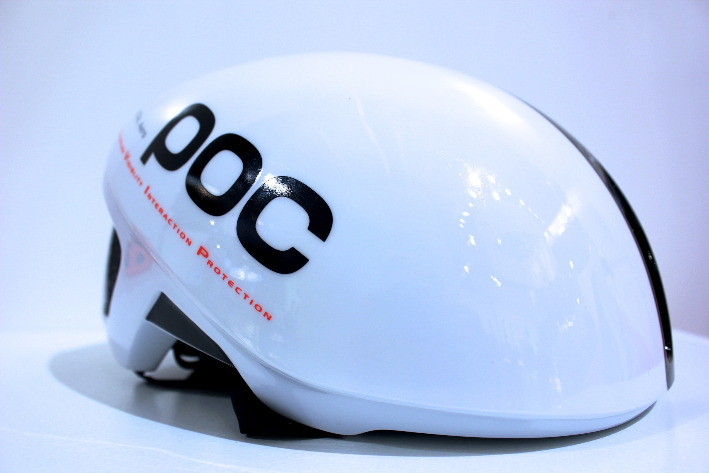 POC Octal Aero helmet, front side profile, Eurobike 2013, pic: Timothy John, ©Factory Media