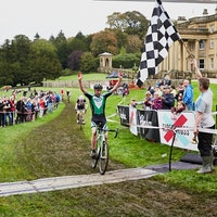 Rapha Super Cross, Paul Oldham, Broughton Hall, Skipton ,2013, salute, pic: Jonathan Hines info@jonathanhines.co.uk, submitted by Kati Jagger