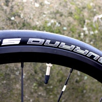 Raleigh Militis Comp, Schwalbe Durano S tyre, sidewall, pic: Timothy John, ©Factory Media