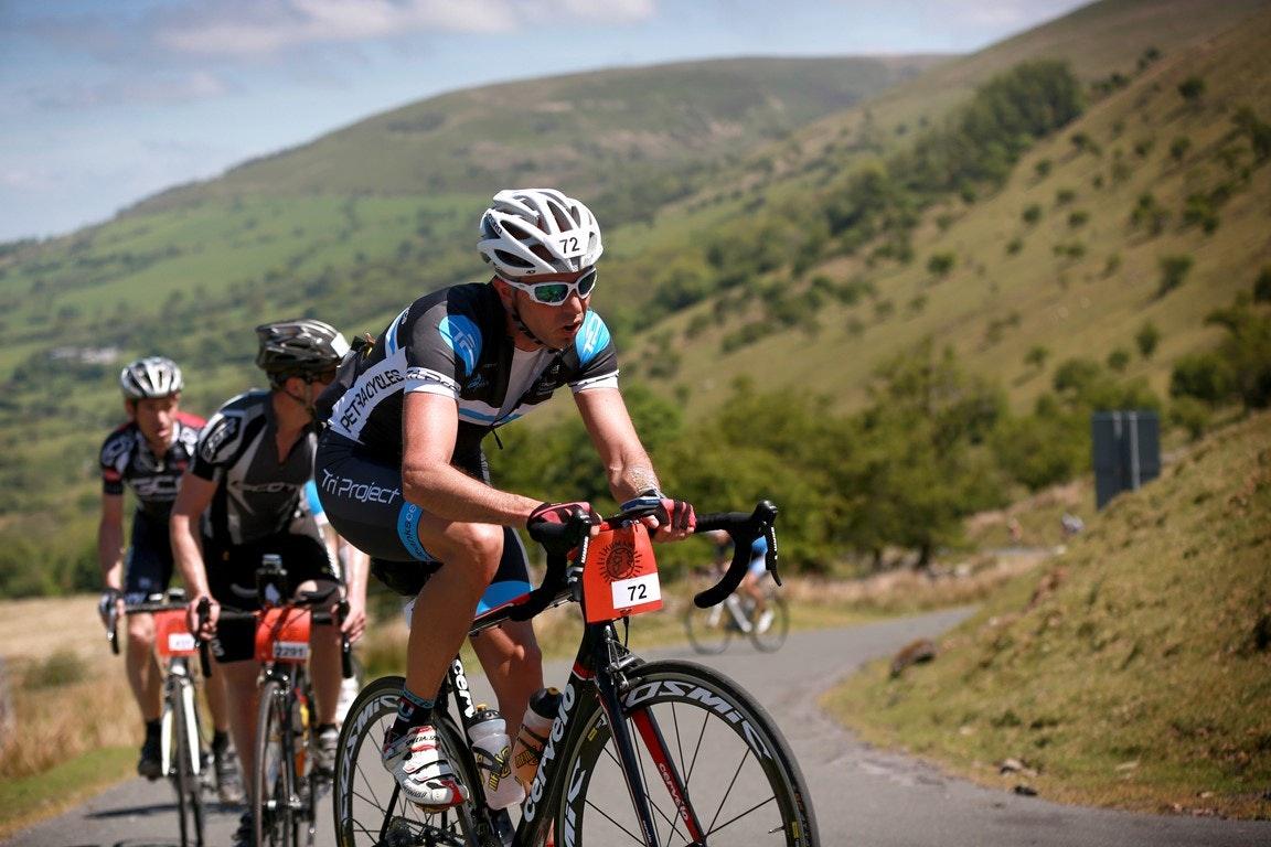 Wiggle Dragon Ride, sportive, Brecon Beacons, pic: Matt Alexander/Human Race