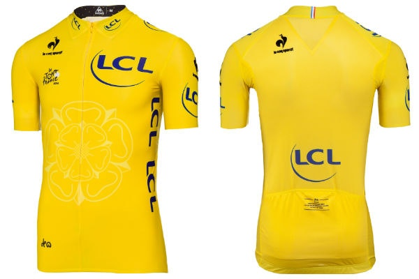 Tour de France 2014, yellow jersey (Pic submitted by Aniqa Ali, Tea & Cake PR)
