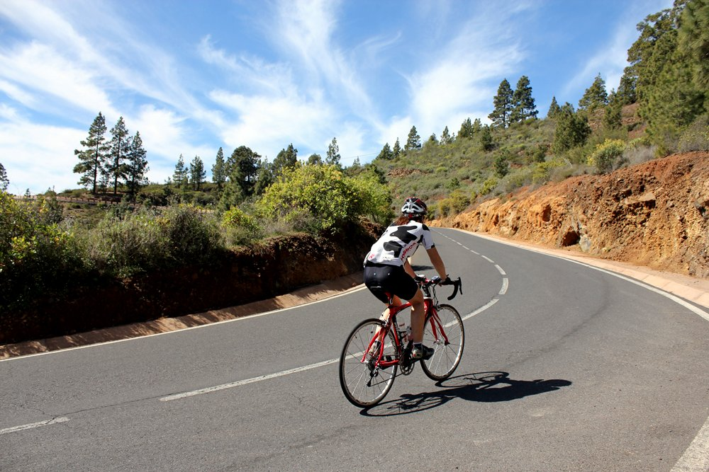 Tenerife, winter training camp, climb (Pic: Polka Dot Cycling)